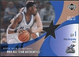 2002/03 Upper Deck All-Star Authentics Warm-Ups #TMAW Tracy McGrady