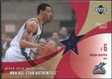2002/03 Upper Deck All-Star Authentics Jerseys #KMAJ Kenyon Martin SP /61