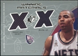 2002/03 Upper Deck SPx Winning Materials #KMW Kenyon Martin Shirt Warm