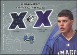 2002/03 Upper Deck SPx Winning Materials #MMW Mike Miller JSY Shirt
