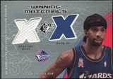 2002/03 Upper Deck SPx Winning Materials #RJW Richard Jefferson Shirt Warm