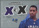 2002/03 Upper Deck SPx Winning Materials #TMW Tracy McGrady Shirt Warm SP