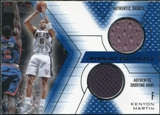2001/02 Upper Deck SPx Winning Materials #KE Kenyon Martin Shorts/Shirt