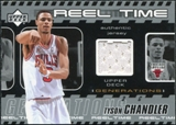 2002/03 Upper Deck Generations Reel Time Jersey #TCJ Tyson Chandler
