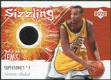 2005/06 Upper Deck Rookie Debut Sizzling Swatches #RL Rashard Lewis