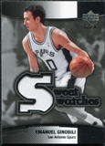 2004/05 Upper Deck Sweet Shot Swatches Jersey #EG Manu Ginobili