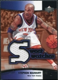 2004/05 Upper Deck Sweet Shot Swatches #SM Stephon Marbury