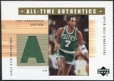 2002/03 Upper Deck Generations All-Time Authentics #TAA Nate Archibald Green