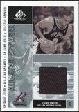 2002/03 Upper Deck SP Game Used All-Star Apparel #SSAS Steve Smith