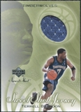 2001/02 Upper Deck Sweet Shot Game Jerseys #TB Terrell Brandon