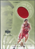 2001/02 Upper Deck Sweet Shot Game Jerseys #TK Toni Kukoc