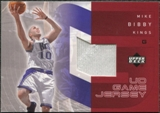 2002/03 Upper Deck UD Game Jerseys 1 #MB Mike Bibby H