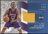 2002/03 Upper Deck UD Game Jerseys 1 #RFRJ Rick Fox R
