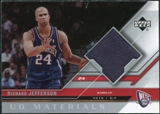 2005/06 Upper Deck UD Materials #RJ Richard Jefferson