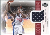 2002/03 Upper Deck Game Plan Jerseys #EBGP Elton Brand