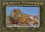 2011 Upper Deck Goodwin Champions Animal Kingdom Patches #AK22 Pacific Walrus LC