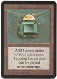 Magic the Gathering Alpha Single Mox Emerald UNPLAYED (NM/MT)