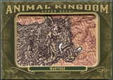 2011 Upper Deck Goodwin Champions Animal Kingdom Patches #AK38 Warthog LC