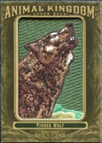 2011 Upper Deck Goodwin Champions Animal Kingdom Patches #AK59 Timber Wolf LC