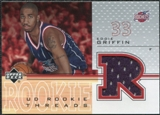 2001/02 Upper Deck Rookie Threads #EGT Eddie Griffin