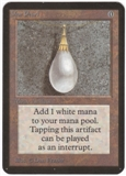 Magic the Gathering Alpha Single Mox Pearl - SLIGHT PLAY (SP)