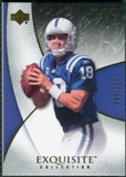 2007 Upper Deck Exquisite Collection #27 Peyton Manning /150