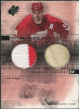 2000/01 Upper Deck SPx Winning Materials #BS Brendan Shanahan Jersey Stick