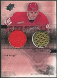 2000/01 Upper Deck SPx Winning Materials #SF Sergei Fedorov Jersey Stick