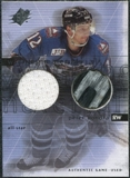 2000/01 Upper Deck SPx Winning Materials #PBO Peter Bondra SP Jersey Stick