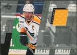 2000/01 Upper Deck Series 1 Game Jerseys #JJ Jaromir Jagr