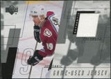 2000/01 Upper Deck Series 1 Game Jerseys #JS Joe Sakic