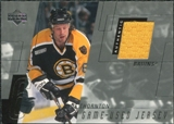 2000/01 Upper Deck Game Jerseys #JT Joe Thornton Series 1