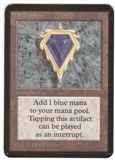 Magic the Gathering Alpha Single Mox Sapphire - SLIGHT PLAY (SP)