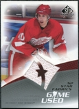 2003/04 Upper Deck SP Game Used #102 Henrik Zetterberg