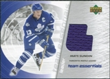 2003/04 Upper Deck Team Essentials #TLMS Mats Sundin