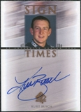 2000 Upper Deck SP Authentic Sign of the Times #KB Kurt Busch Autograph