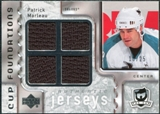 2006/07 Upper Deck The Cup Foundations #CQPM Patrick Marleau /25
