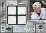 2006/07 Upper Deck The Cup Foundations #CQSU Mats Sundin /25