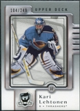 2006/07 Upper Deck The Cup #3 Kari Lehtonen /249