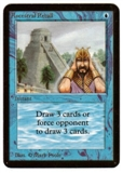 Magic the Gathering Alpha Single Ancestral Recall UNPLAYED (NM/MT)