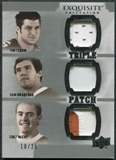 2010 Upper Deck Exquisite Collection Patch Trios #TMB Colt McCoy Sam Bradford Tim Tebow /25