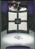 2007 Upper Deck Exquisite Collection Maximum Jersey Silver #ER Ed Reed /75