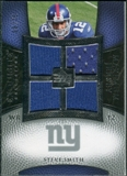 2007 Upper Deck Exquisite Collection Maximum Jersey Silver #SS Steve Smith USC /75