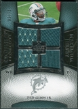 2007 Upper Deck Exquisite Collection Maximum Jersey Silver #TG Ted Ginn Jr. /75