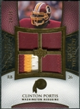 2007 Upper Deck Exquisite Collection Maximum Patch #CP Clinton Portis 24/25