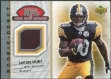 2006 Upper Deck Rookie Debut Rookie Jerseys #86TE Santonio Holmes