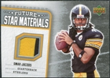 2006 Upper Deck Rookie Debut Future Star Materials Silver #FSMOJ Omar Jacobs
