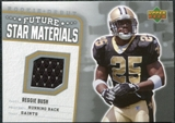 2006 Upper Deck Rookie Debut Future Star Materials Silver #FSMRB Reggie Bush