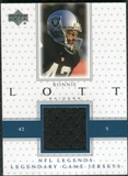2000 Upper Deck Legends Legendary Jerseys #LJRL Ronnie Lott