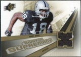 2006 Upper Deck SPx Swatch Supremacy #SWRM Randy Moss